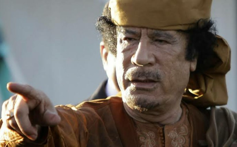 نبوءة القذافي تحققت بعد 9 سنوات على مقتله