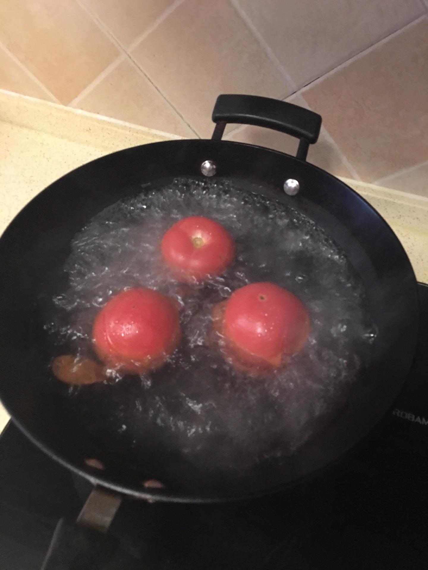 西紅柿雞蛋湯的做法_菜譜_豆果美食