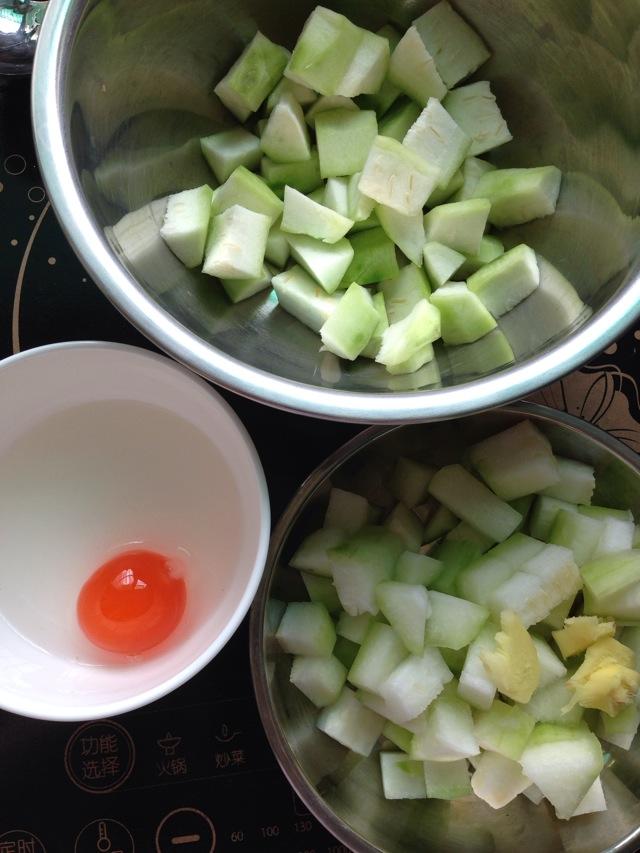 絲瓜節瓜咸蛋湯怎么做_絲瓜節瓜咸蛋湯的做法_Angiecharm_豆果美食