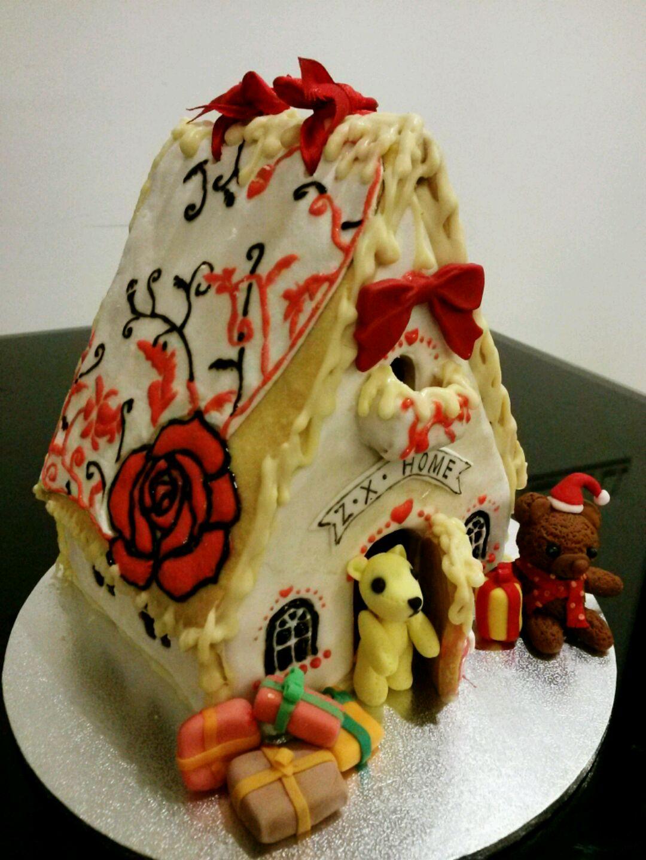 圣誕系列--姜餅屋的做法_【圖解】圣誕系列--姜餅屋怎么做如何做好吃_圣誕系列--姜餅屋家常做法大全_僖兒2005 ...