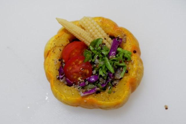 藜麦南瓜沙拉#松下多面美味#的做法图解11