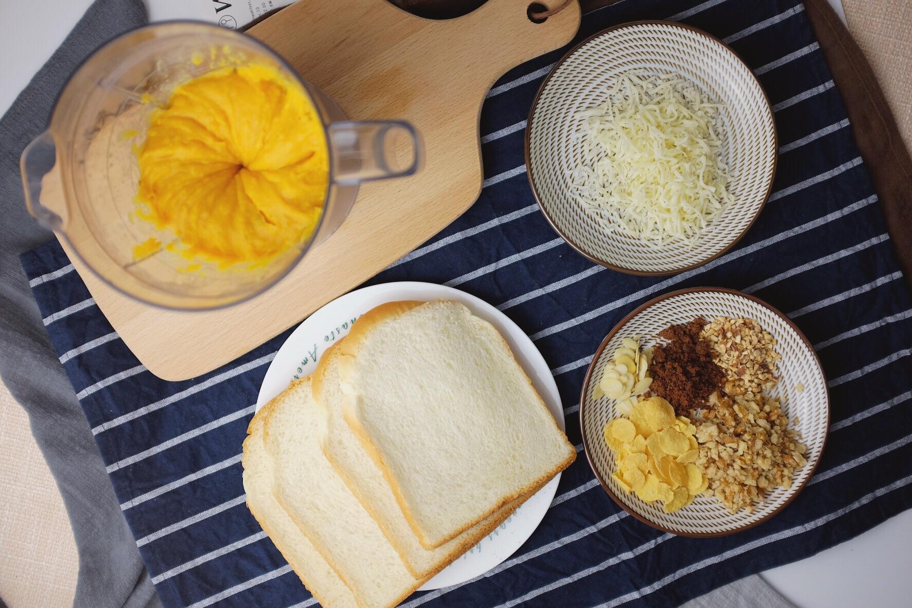 地瓜吐司卷怎么做_地瓜吐司卷的做法_李奶奶的廚房_豆果美食