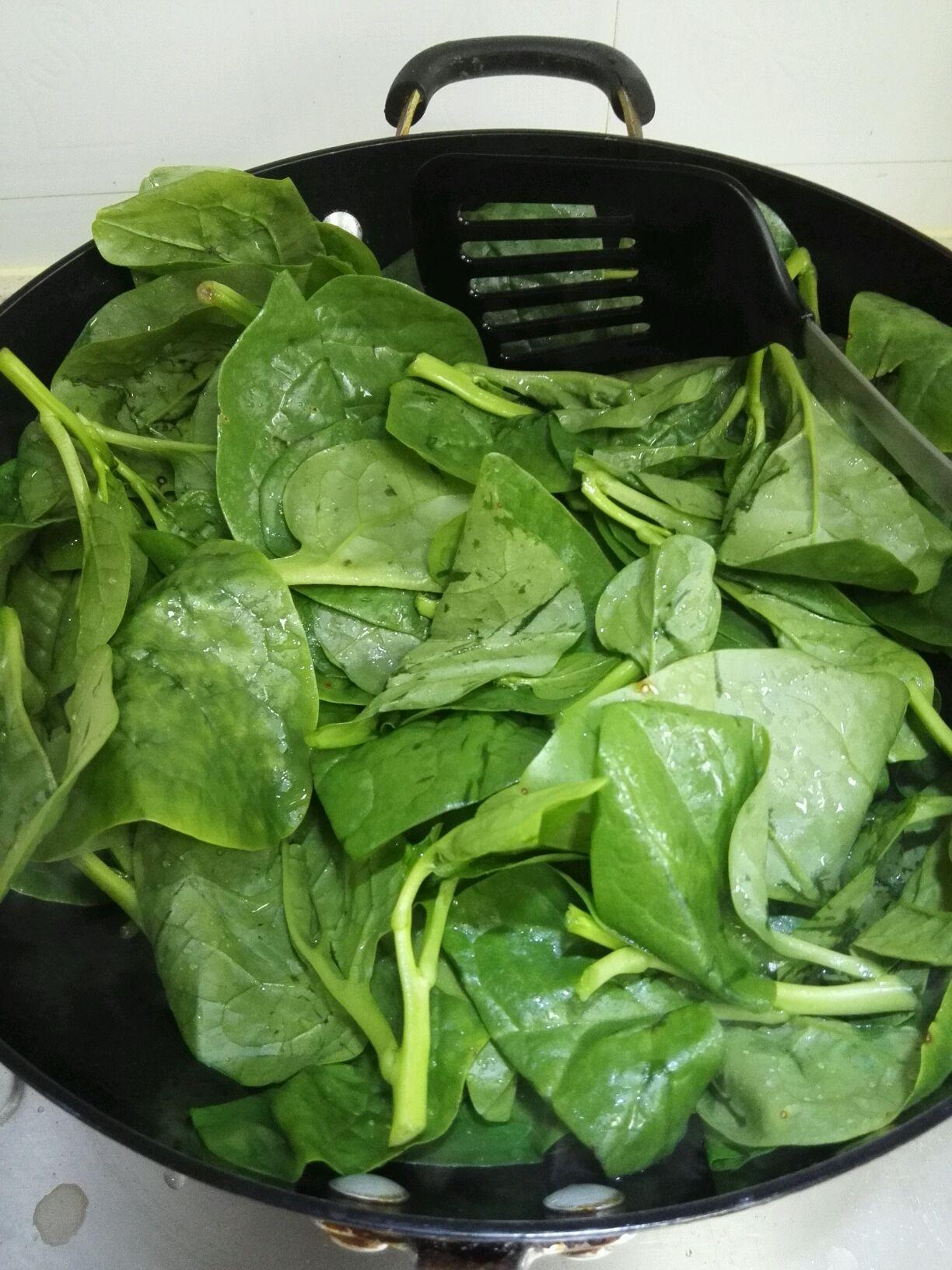 蒜味紫角葉(木耳菜)的做法_菜譜_豆果美食