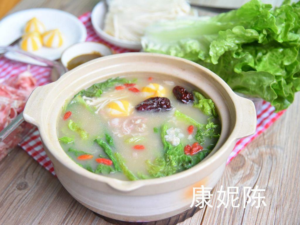 糙米粥火鍋怎么做_糙米粥火鍋的做法_康妮陳_豆果美食