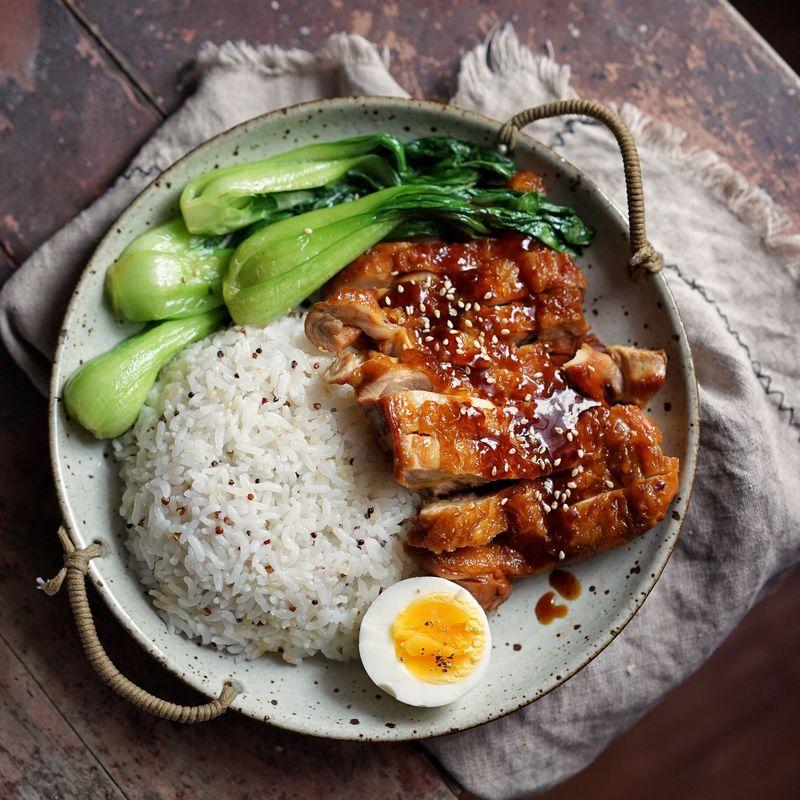 照燒雞腿飯(簡單版)的做法_【圖解】照燒雞腿飯(簡單版)怎么做如何做好吃_照燒雞腿飯(簡單版)家常 ...
