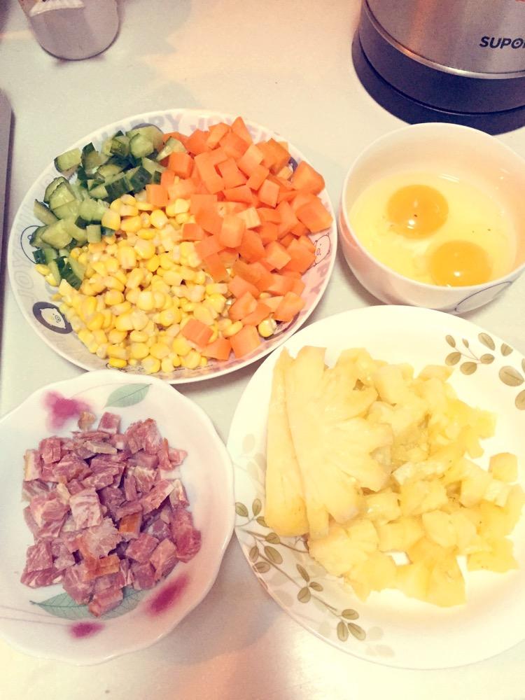 菠蘿炒飯的做法_菜譜_豆果美食