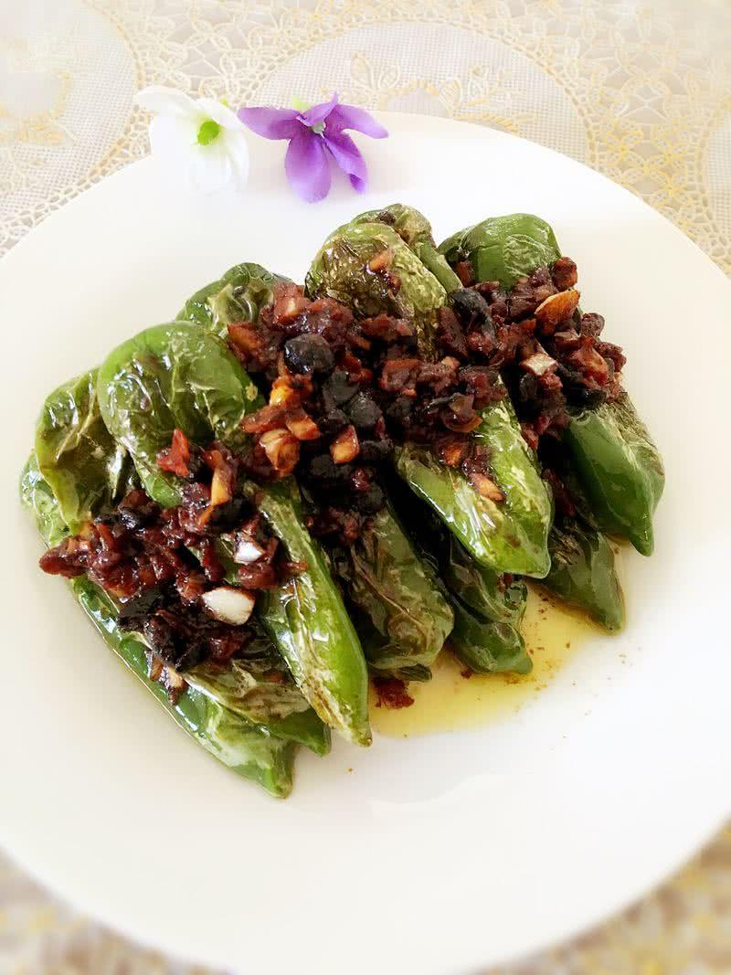 虎皮青椒的做法_【圖解】虎皮青椒怎么做如何做好吃_虎皮青椒家常做法大全_麗麓_豆果美食