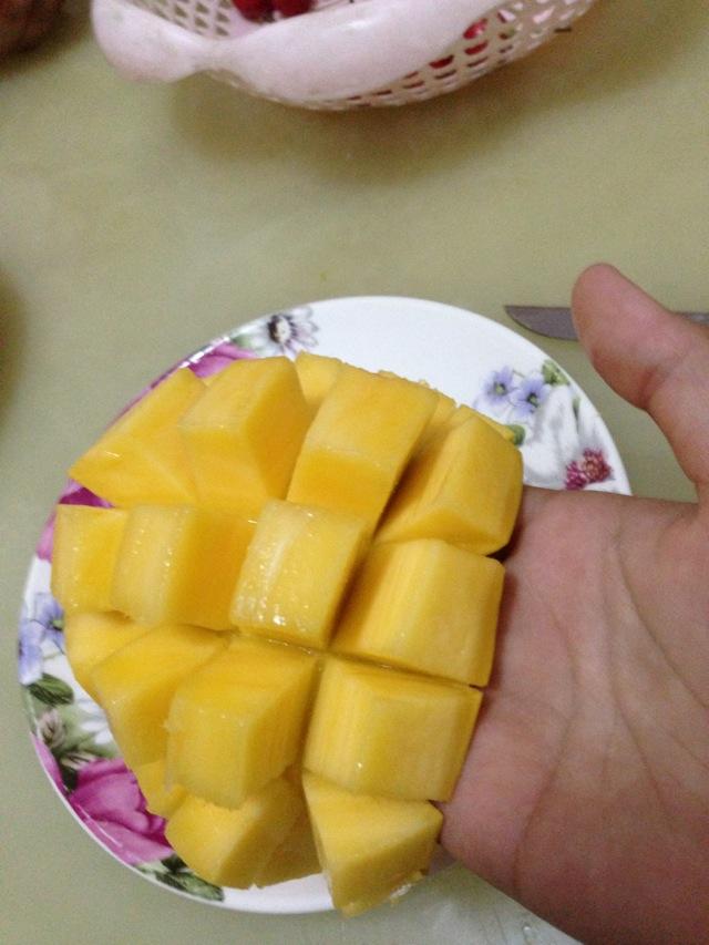 巧切芒果的做法_菜譜_豆果美食