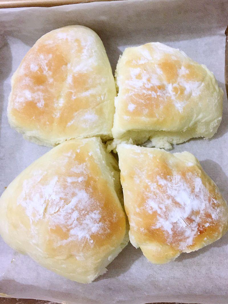 香芋面包的做法_【圖解】香芋面包怎么做如何做好吃_香芋面包家常做法大全_美麗的花苑_豆果美食