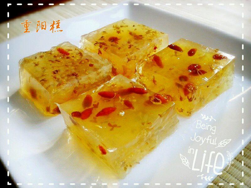 「重陽」桂花糕的做法_菜譜_豆果美食