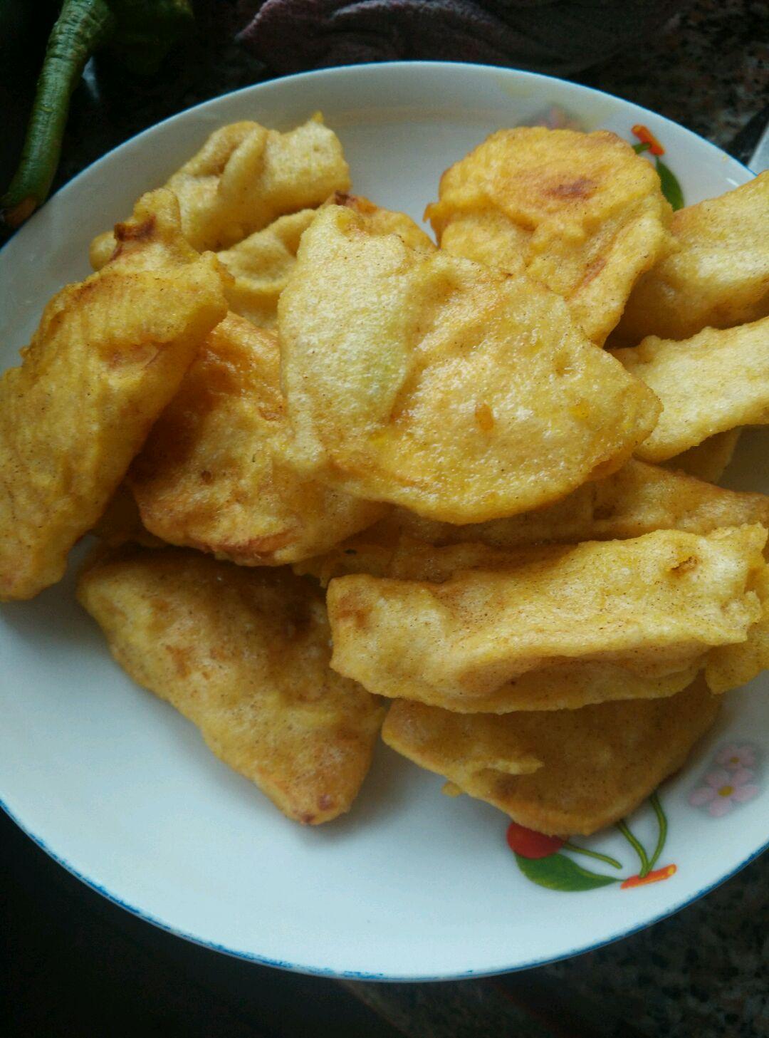 炸地瓜片怎么做_炸地瓜片的做法_豆果美食