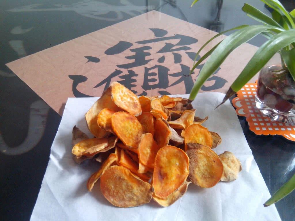 瘦身零食--烤紅薯片的做法_【圖解】瘦身零食--烤紅薯片怎么做如何做好吃_瘦身零食--烤紅薯片家常做法大全 ...