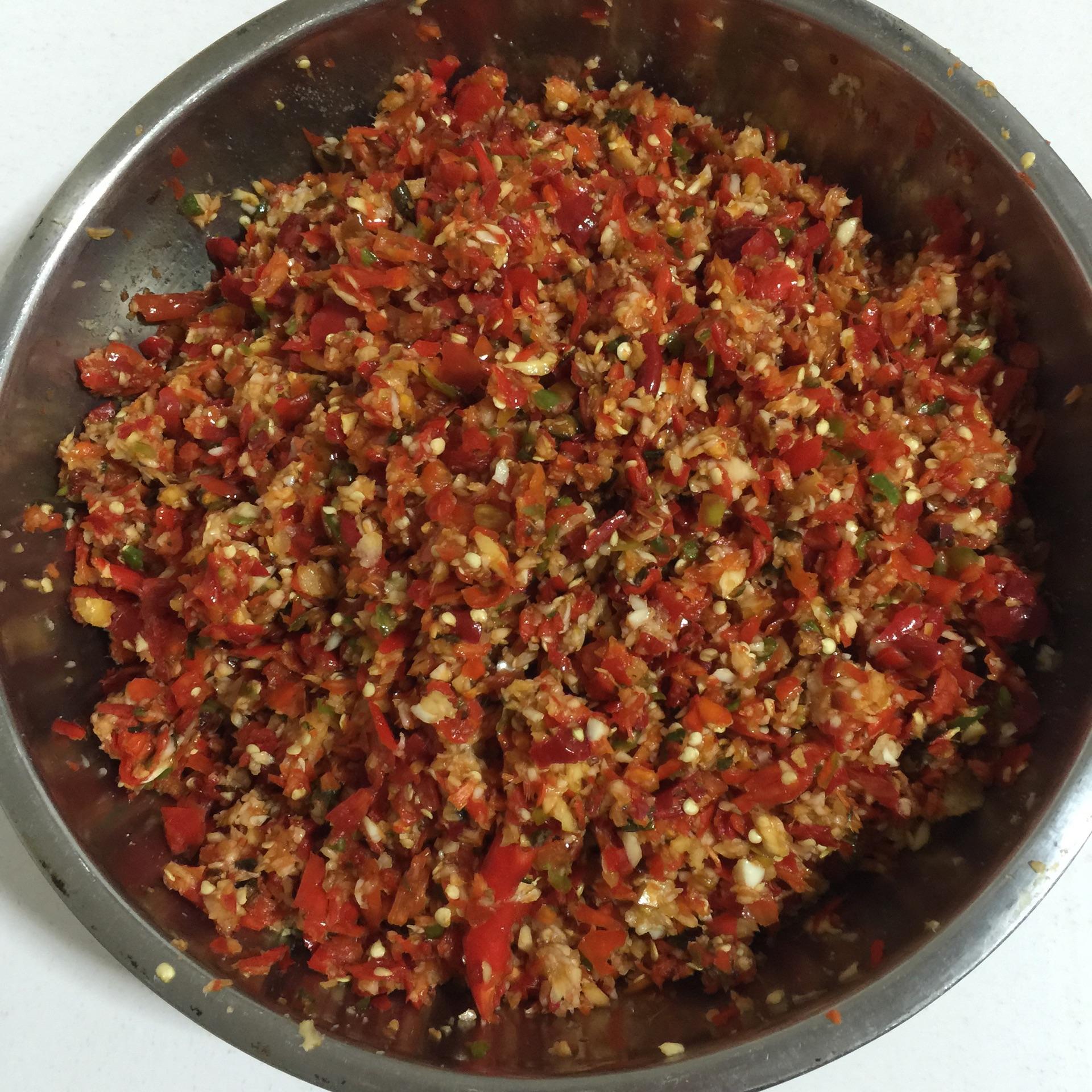 自制辣椒醬的做法_【圖解】自制辣椒醬怎么做如何做好吃_自制辣椒醬家常做法大全_果媽私房菜_豆果美食
