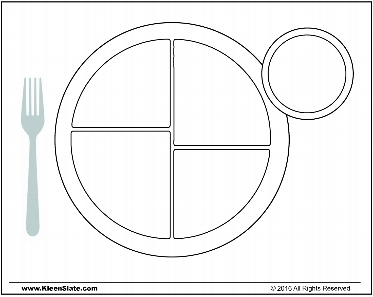 Choosemyplate Coloring Pages Coloring Pages