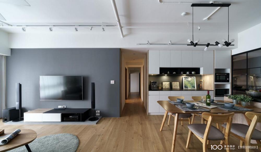 100室內設計文章 - 電視牆這樣設計好北歐!