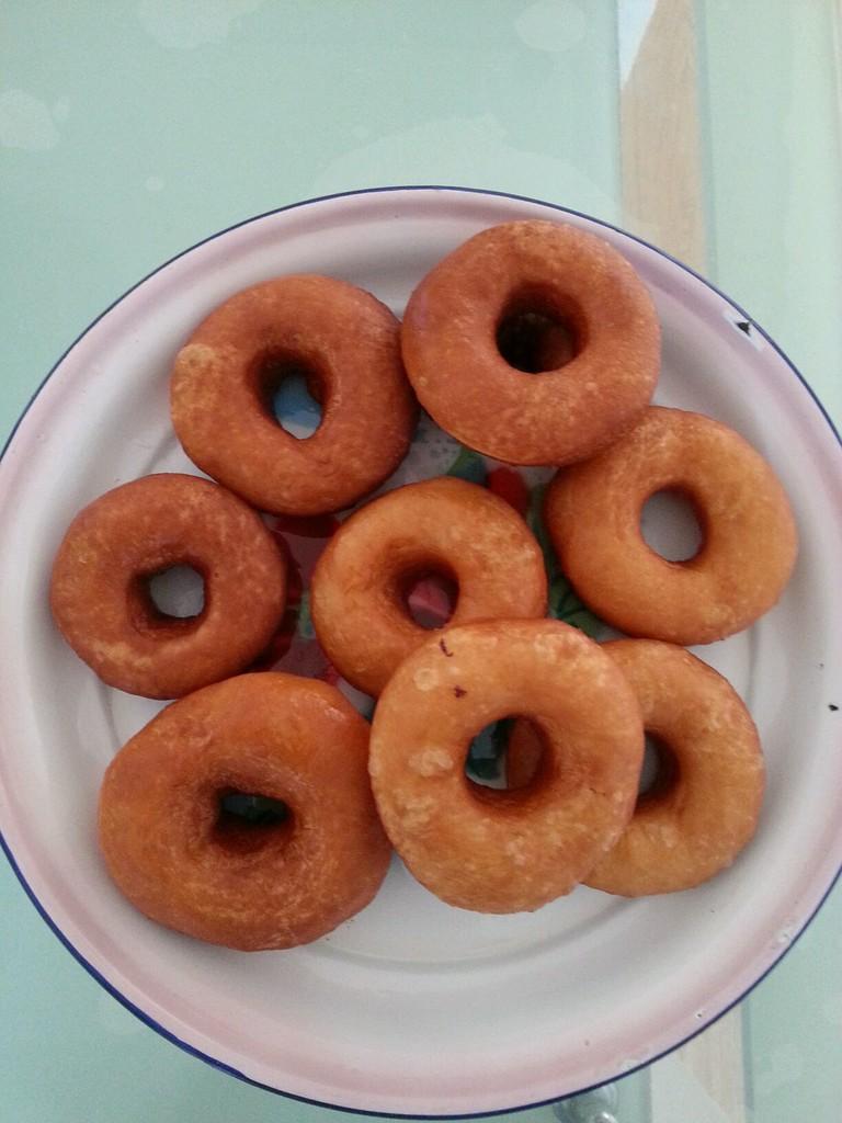 甜甜圈的做法_【圖解】甜甜圈怎么做如何做好吃_甜甜圈家常做法大全_慢吃快活_豆果美食