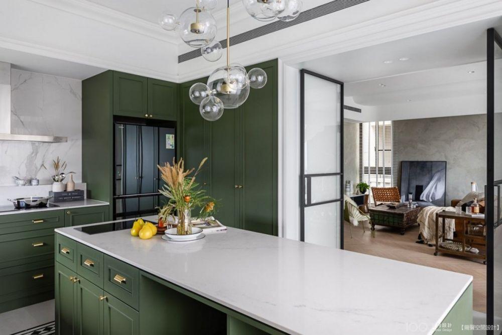 看完這5種開放式廚房設計,立馬改造你家的吧! - 100室內設計