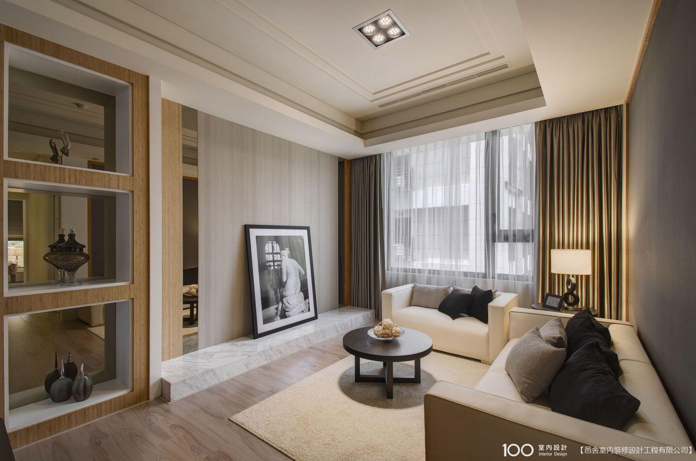 150萬-225萬 20坪 古典風 2房 新成屋 裝修效果圖- 敦南觀止實品屋 -100室內設計