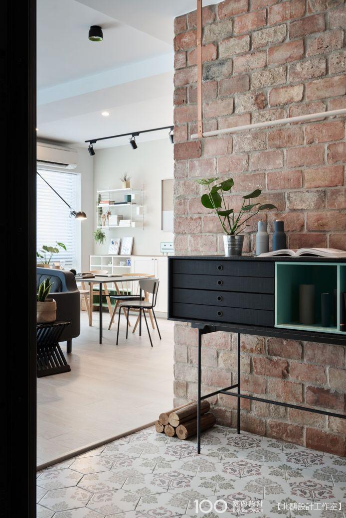 40坪 北歐風 4房 新成屋 裝修效果圖- 40坪北歐簡約宅 -100室內設計