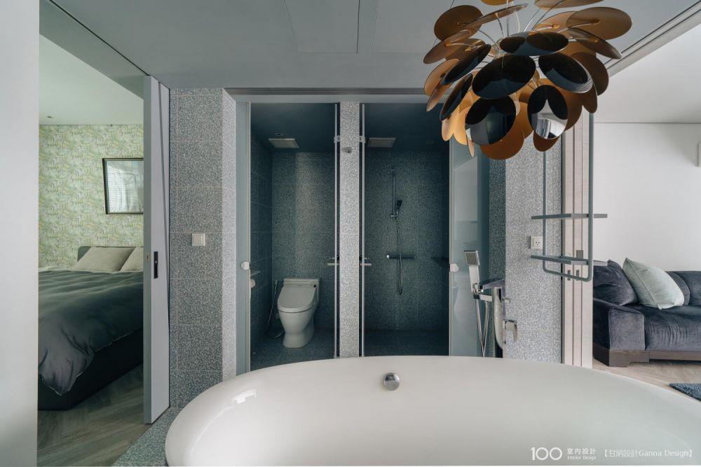 主臥浴室怎麼布局才恰到好處? - 100室內設計