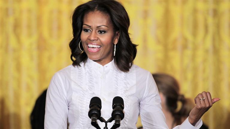 Znalezione obrazy dla zapytania MIchelle Obama
