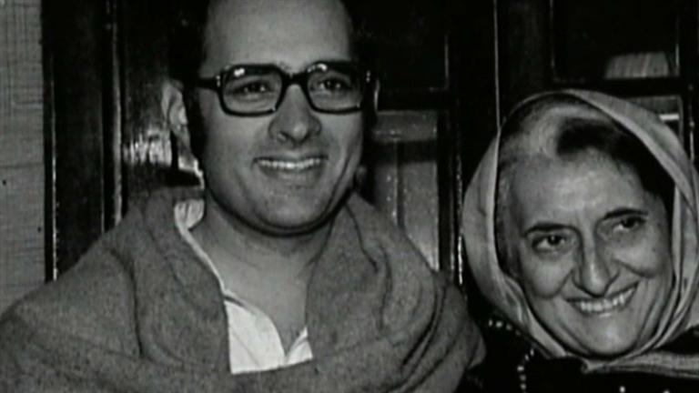 Indira Gandhi - Death of Her Son