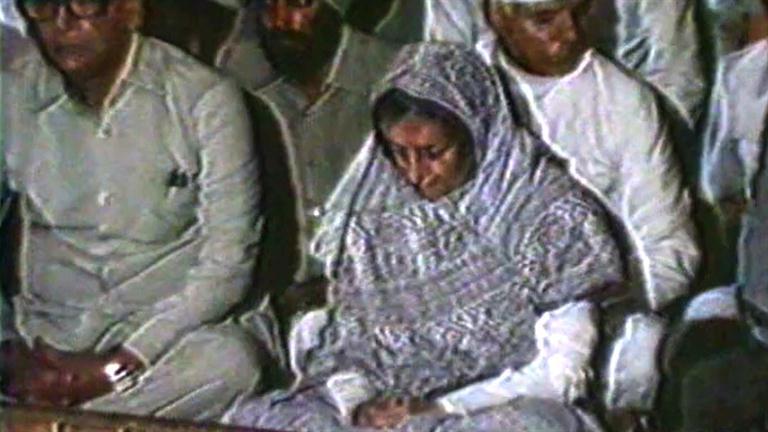 Indira Gandhi - Sikh Confrontation