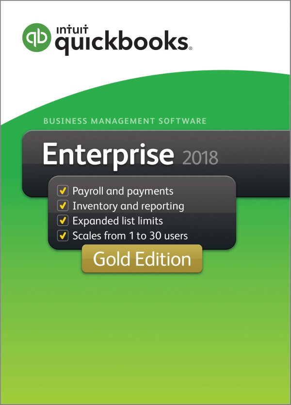 Contractor Edition Quickbooks Enterprise 2018 Gold