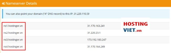 tro domain ve host cpanel