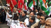 Left, Congress bring out joint rally against CAA in Kolkata