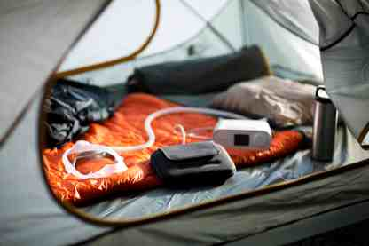 Using CPAP While Camping - Travel CPAP - cpapRX