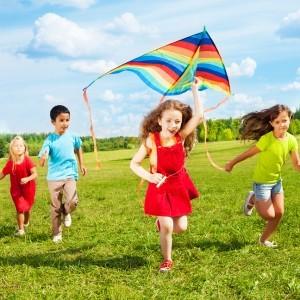 Summer fun with kite
