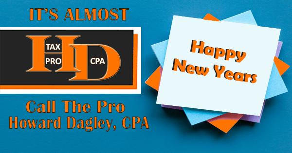 Happy New Years | Howard Dagley, CPA
