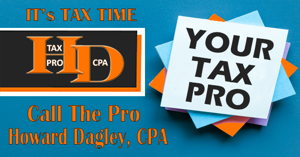 Get All Of Your Tax Questions Answers! | Howard L Dagley, CPA
