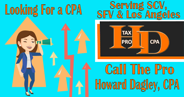 Looking For a CPA | Tax Pro – Howard Dagley, CPA