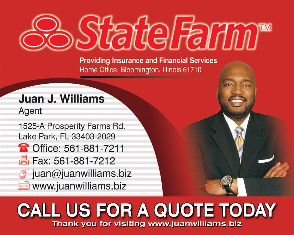 juan williams state farm