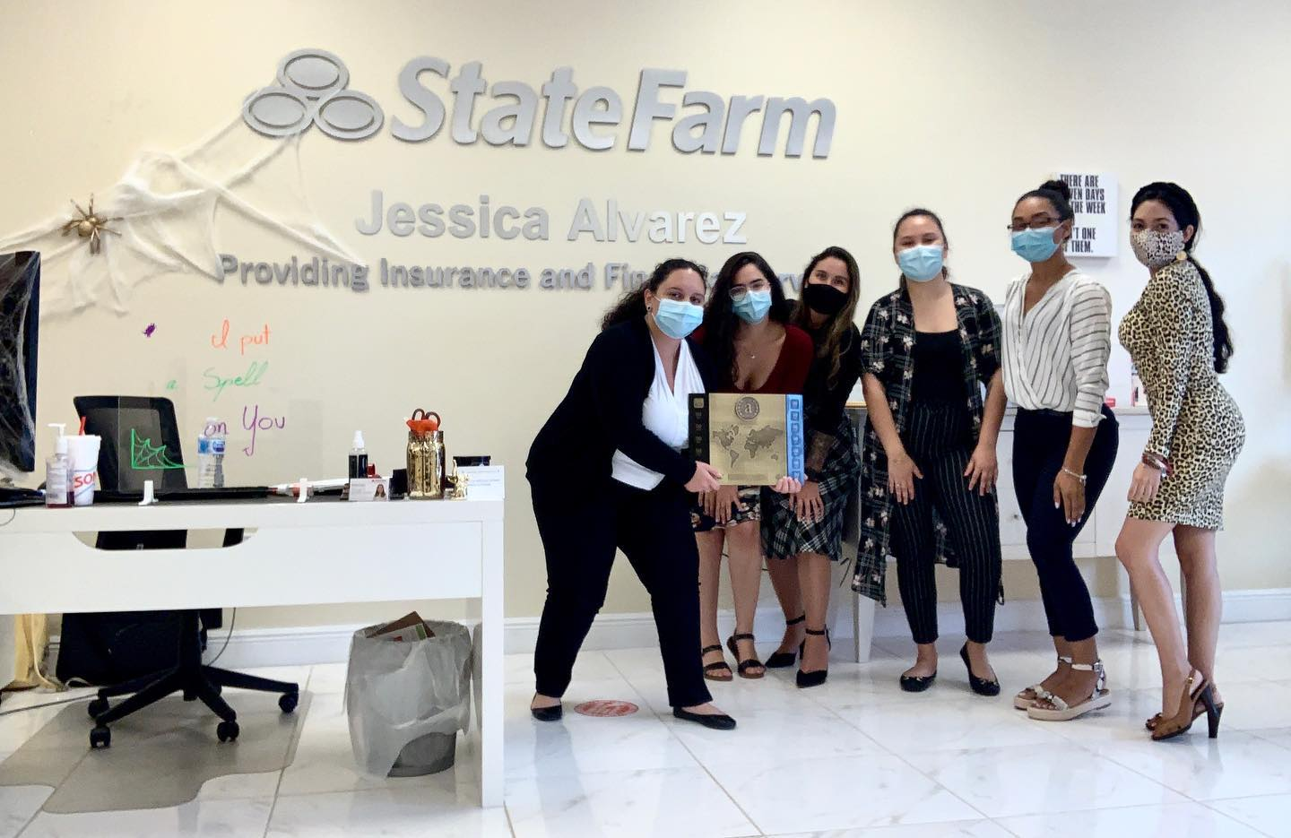 Agent's Assistant - State Farm Agent Team Member (Property and Casualty Insurance Focus)   Jessica Alvarez - State Farm Agent