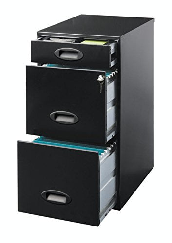 Realspace SOHO 3Drawer Organizer Vertical File Cabinet