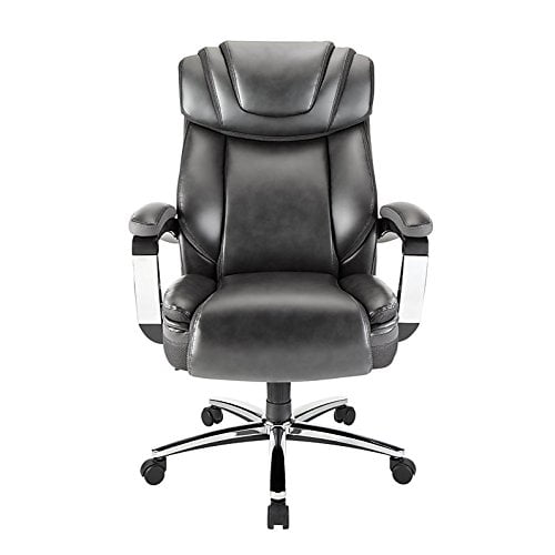 RealspaceR Axton Big Tall Bonded Leather HighBack Chair