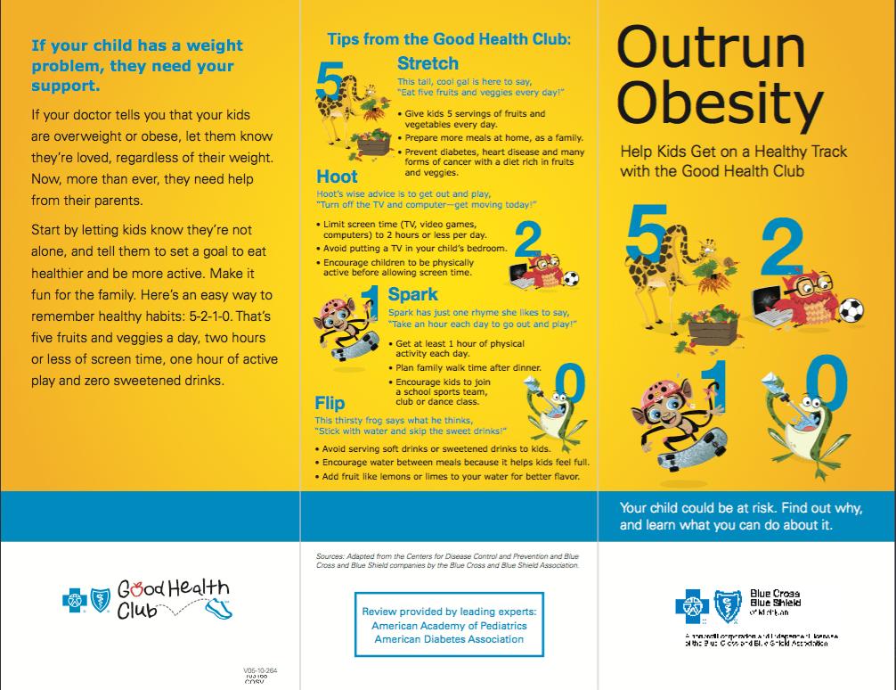 Nutrition Education Brochure