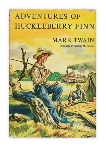 Image result for huck finn cover