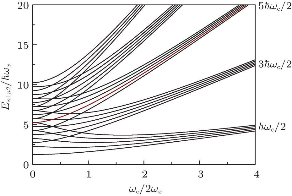 Effects of a finite number of particles on the