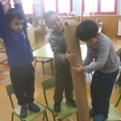 Rincón de construcciones- en equipo