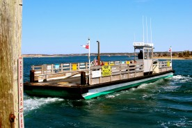 Chappy Ferry, Martha's Vineyard, MA.