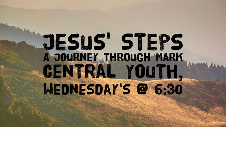 Jesus Steps – A Journey through Mark