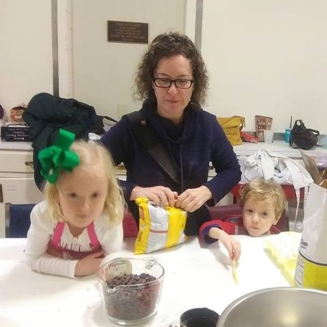 For Instagram: It's always sweeter with friends: Christmas cookie baking at CPC. #cpcmidtown #centralpresbyterianchurch #mobilealabama #loveall #loveyourneighbor