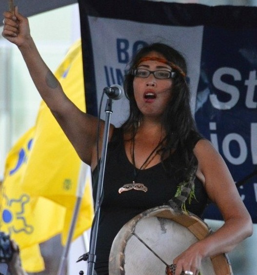 Image result for Audrey Siegl, a Musqueam First Nations activist