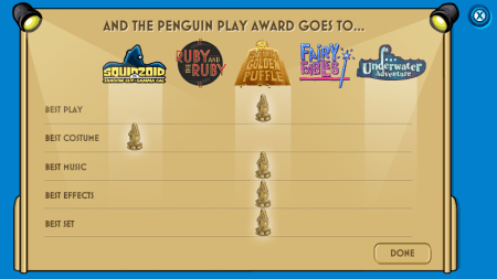 Club Penguin Penguin Play Awards Winners Announced club penguin
