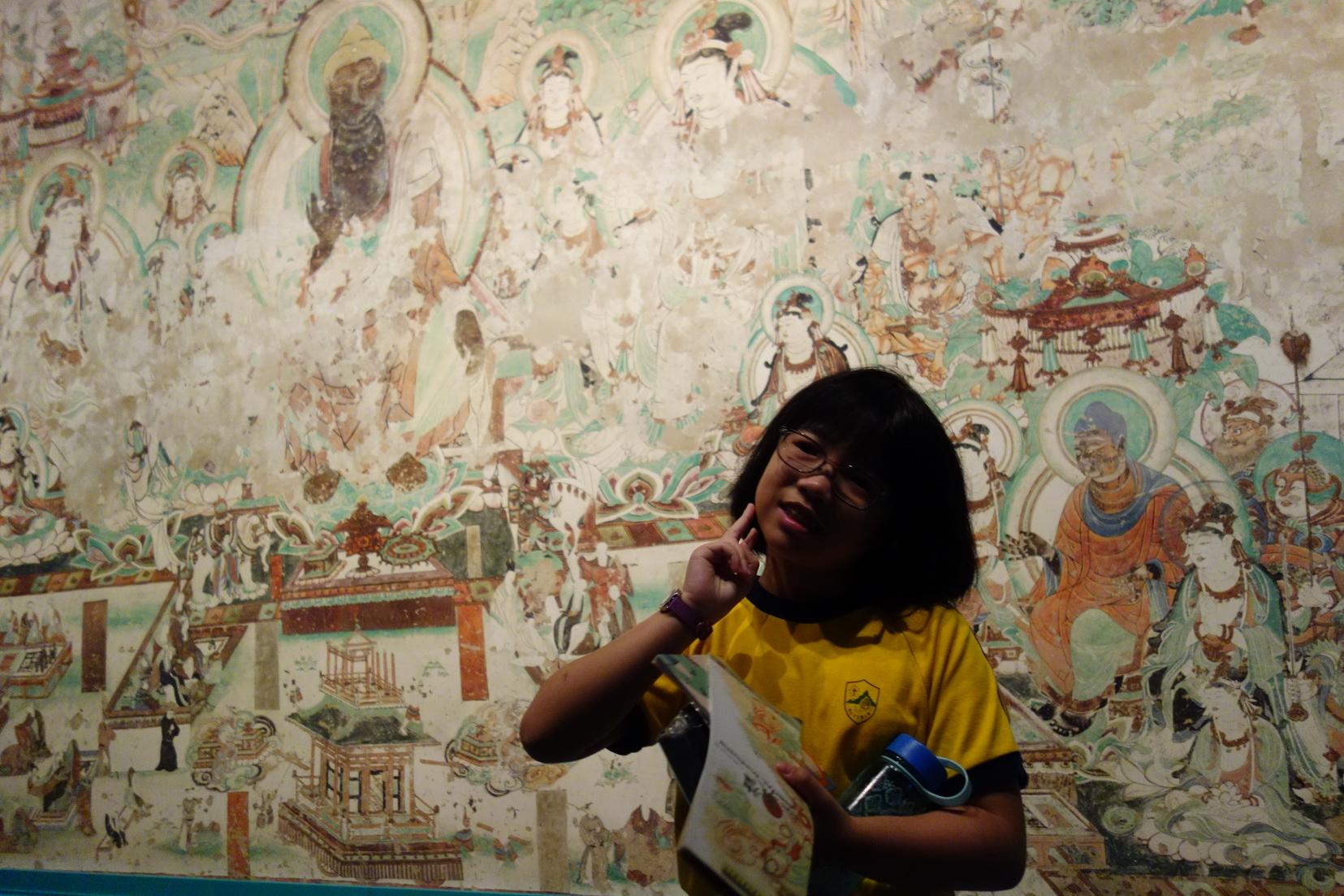 四年級參觀香港文化博物館活動