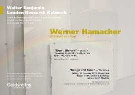 """Werner Hamacher – """"Image and Time"""" - 23/10/15"""
